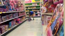 Falling In Public! - Coning/Falling In Stores PUBLIC PRANKS