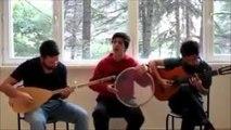 Yanarım Yanarım Saz Gitar ve Darbuka Süper Ses Amatör Şarkılar