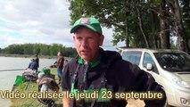 Championnat de France de pêche au coup 2015 Montage des lignes de Stéphane Pottelet