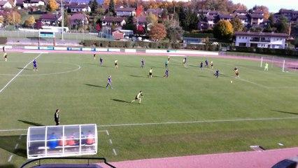 VLG FC - BALLAISON (4-0) intervention propre de Djamel L