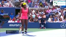 Serena Williams vs Roberta Vinci US OPEN 2015 tennis highlights