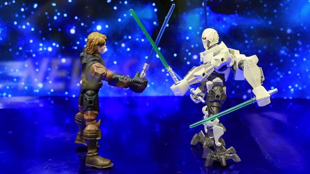 Star Wars NEW Hero Mashers Anakin Skywalker Fights General Grievous Becomes Darth Vader