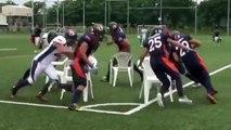 Quand des joueurs de Football Américain jouent aux chaises musicales... Violent!