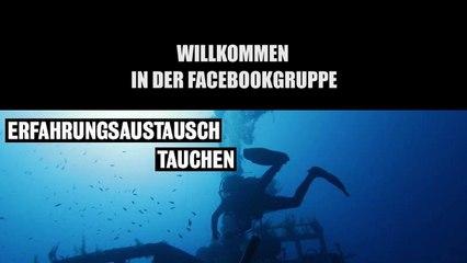 """""""Erfahrungsaustausch Tauchen"""" Regeln für die Facebookgruppe"""