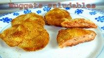 NUGGETS DE POLLO SALUDABLES - recetas de cocina faciles y economicas y rapidas de hacer