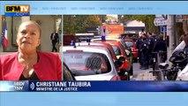 """Christiane Taubira: il faut """"réfléchir"""" sur un contrôle des avocats """"en toutes circonstances"""""""