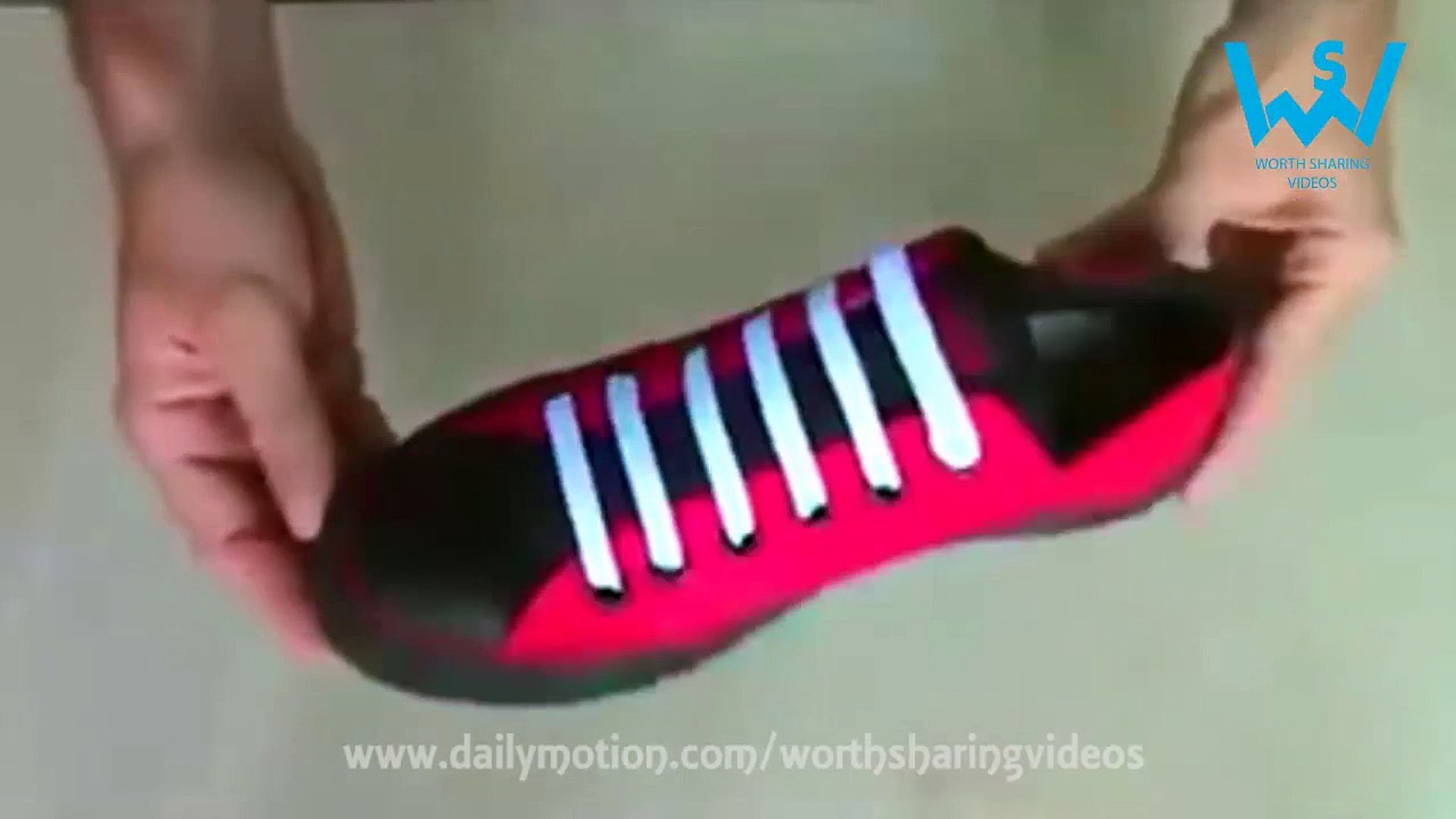 5 amazing ways to tie your shoe laces