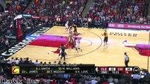LeBron James Full Highlights 2015.10.27 at Bulls - 25 Pts, 10 Rebs, 5 Assists