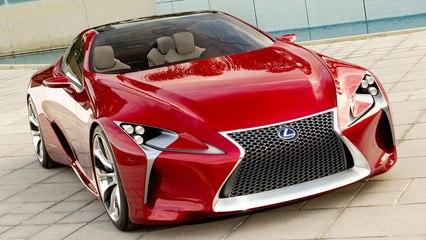 Behind-the-Scenes: Lexus LF-LC Concept