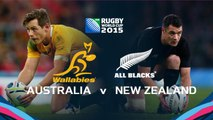 Australia v New Zealand - RWC final preview
