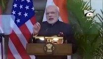 Tezabi Totay Obama Visit India Funny Press Conference with Narendra Modi