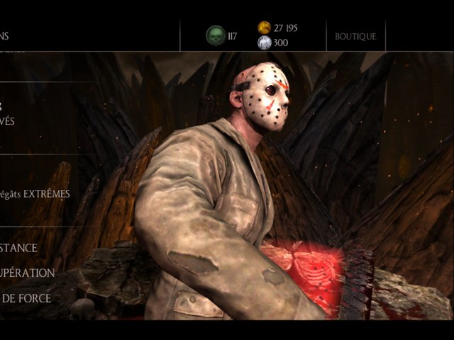 MKX : Guerre des factions saison Jason Voorhees Slasher — Mortal Kombat X