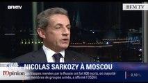 TextO' : Russie - Nicolas Sarkozy  : « Je ne me résous pas à ce climat de guerre froide »