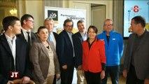 Mont-Blanc. Tour de France 2016 : Concurrence entre communes