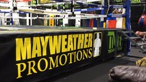 Mayweather v Pacquiao: Inside the Mayweather gym - Gareth A Davies meets Floyd's family