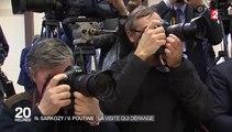 Russie : Nicolas Sarkozy a rencontré Vladimir Poutine