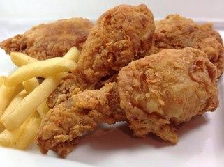 Chicken Broast Recipe - KFC Style Fried Chicken