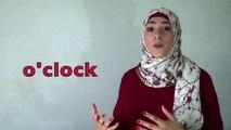 تعلم انجليزي مع إيمان-درس رقم ٩-كيف تسأل عن الوقت و كيف تجيب عنه