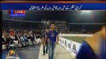 See How Muhammad Aamir Was Welcomed by People in Karachi Kings PSLT20