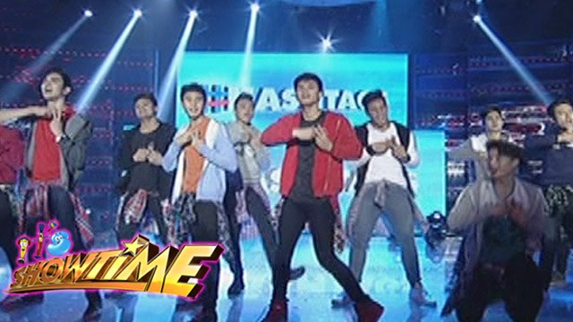 "It's Showtime: Dawn, Hashtag boys perform ""Kilometro"""
