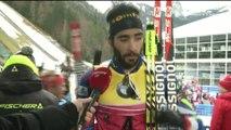 Biathlon - CdM (H) - Ruhpolding : Fourcade «Sécuriser le général»
