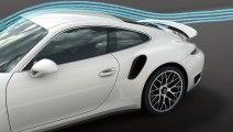 Porsche 991 Turbo S Adaptative Aerodynamic