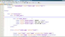 How to Make a Chat System in PHP -u0026 AJAX in Urdu-_Hindi 4 of 6
