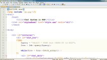 How to Make a Chat System in PHP -u0026 AJAX in Urdu-_Hindi 6 of 6