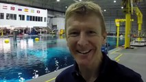 Tims video diary: Underwater spacewalker - Tim Peake: How to be an Astronaut - BBC Two