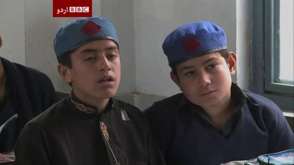 KPK Govt. re-building those schools that were bombed by Militants - BBC Documentary!