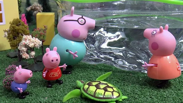 Peppa Pig English Episode Play Doh Robo Turtle | Juguetes de Peppa Toys Toy Unboxing Review Pepa  Funny So Much! Videos