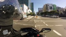 Moped Crashes Into Pedestrian | Look Both Ways