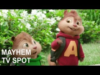 Alvin and the Chipmunks: The Road Chip | Mayhem: TV SPOT | Fox Star India