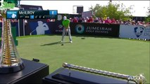 Rory McIlroy Crushing Drives at 2015 DP European PGA Tour Golf Event