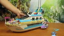 Лего Френдс МОРСКОЙ КОРАБЛЬ и ДЕЛЬФИНЫ набор Lego Френдс MORSKI STATEK i DELFINY zestaw