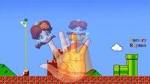 Finger Family Nursery Rhymes Super Mario Cartoon | Finger Family Rhymes for Children Animated