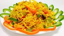 Vegetable Schezwan Fried Rice Recipe-Easy and Quick Fried Rice-How to Make Chinese Fried R
