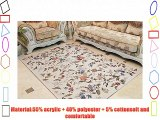 Luk Oil Fresh Floral Western Rugs Rustic Area Rugs Vintage Shabby Traditional Rugs Floral Rugs
