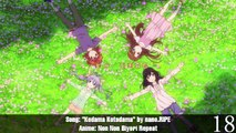 Top 20 Anime Opening Songs of Summer 2015 - Vidéo dailymotion