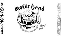 Motörhead Logo Fan Art Fan-Art MotorHead Lemmy Kilmister Rock Out