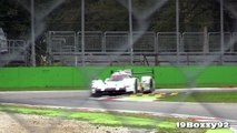 Porsche 919 Hybrid LMP1 In Action On Track V4 Turbo Engine Sound