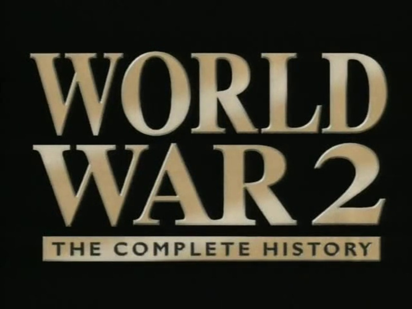 World War 2 : The Complete History – Documentary – S1, Ep2 – The End of Illusion