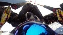 Un skieur pro pris dans une avalanche (Tignes) - Théo Lange