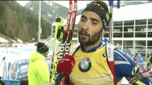 Biathlon - CdM (H) - Ruhpolding : Fourcade «Un super état d'esprit»