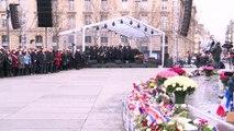 Une cérémonie d'hommage aux victimes des attentats émouvante mais clairsemée
