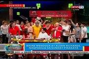 BP: Maine Mendoza à Alden Richards, lalo raw naging près inclus sa Mon Bebe dAmour
