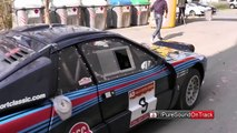 Rally Costa Brava 2015 - FIA Historic Rally - Lancia 037 Sound & Rally Action
