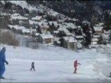 Descente sur les pistes de Ski alpin à Valmorel - Ski cet hiver ?
