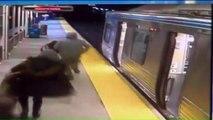 (SHOCKING VIDEO) Train passenger robbed, Tased, thrown onto tracks in Philadelphia