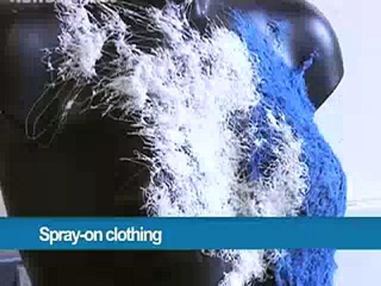 Spray_On_Clothing Technology